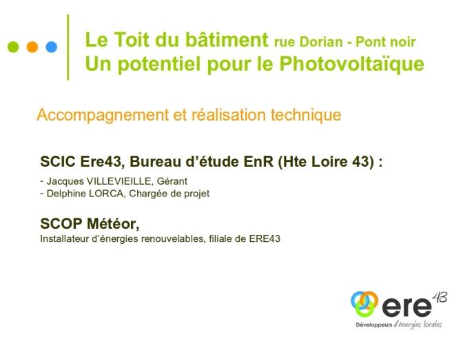 Présentation Projet PV Copropriété Dorian 3