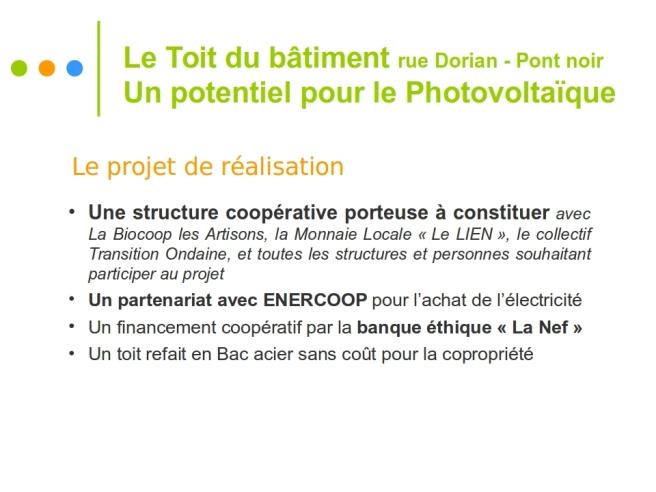 Présentation Projet PV Copropriété Dorian 4